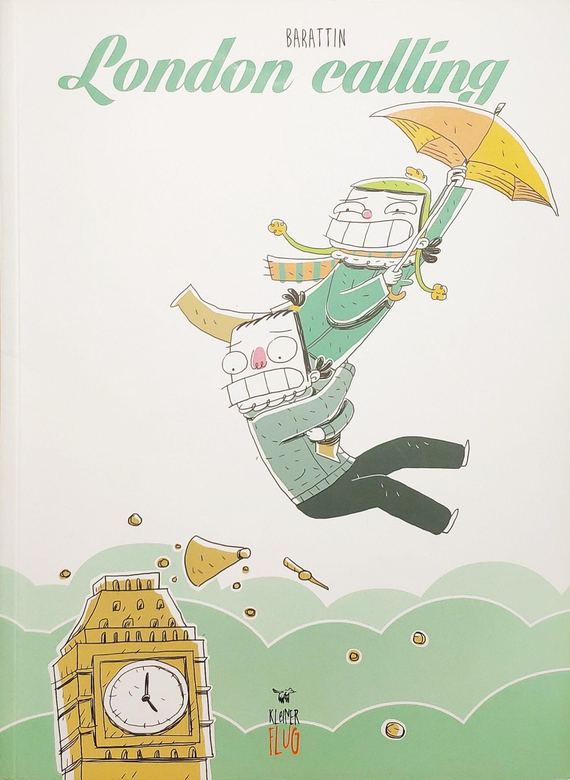Mio caro fumetto... - Copertina di London Calling di Andrea Barattin