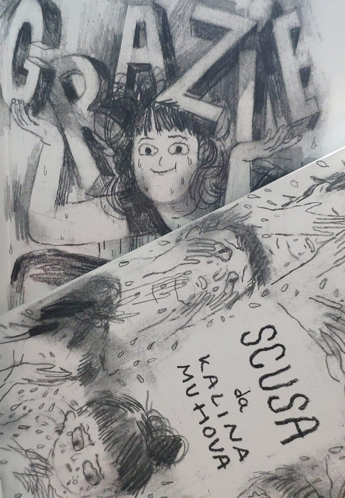 Mio caro fumetto... - Grazie e Scusa di Kalina Muhova prodotto da Rulez di Chiara Palmieri