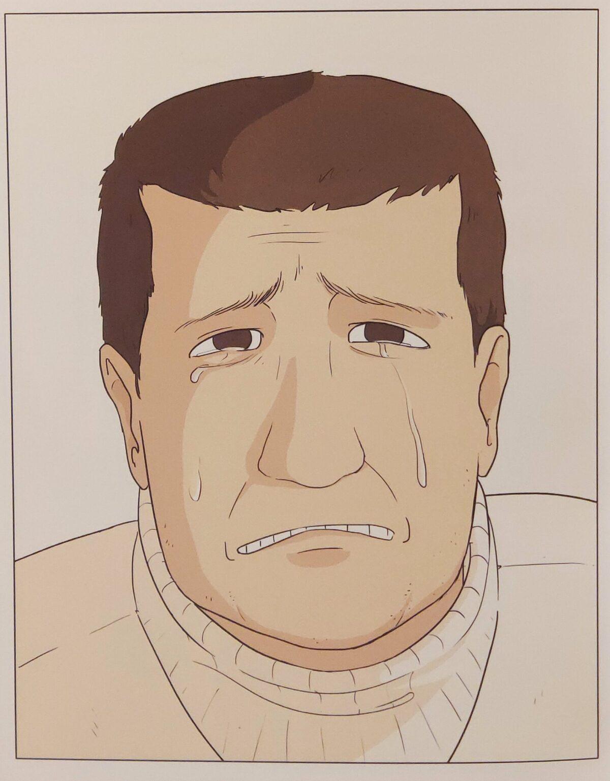 Mio caro fumetto... - La disperazione di Manu, protagonista di Fidati di me