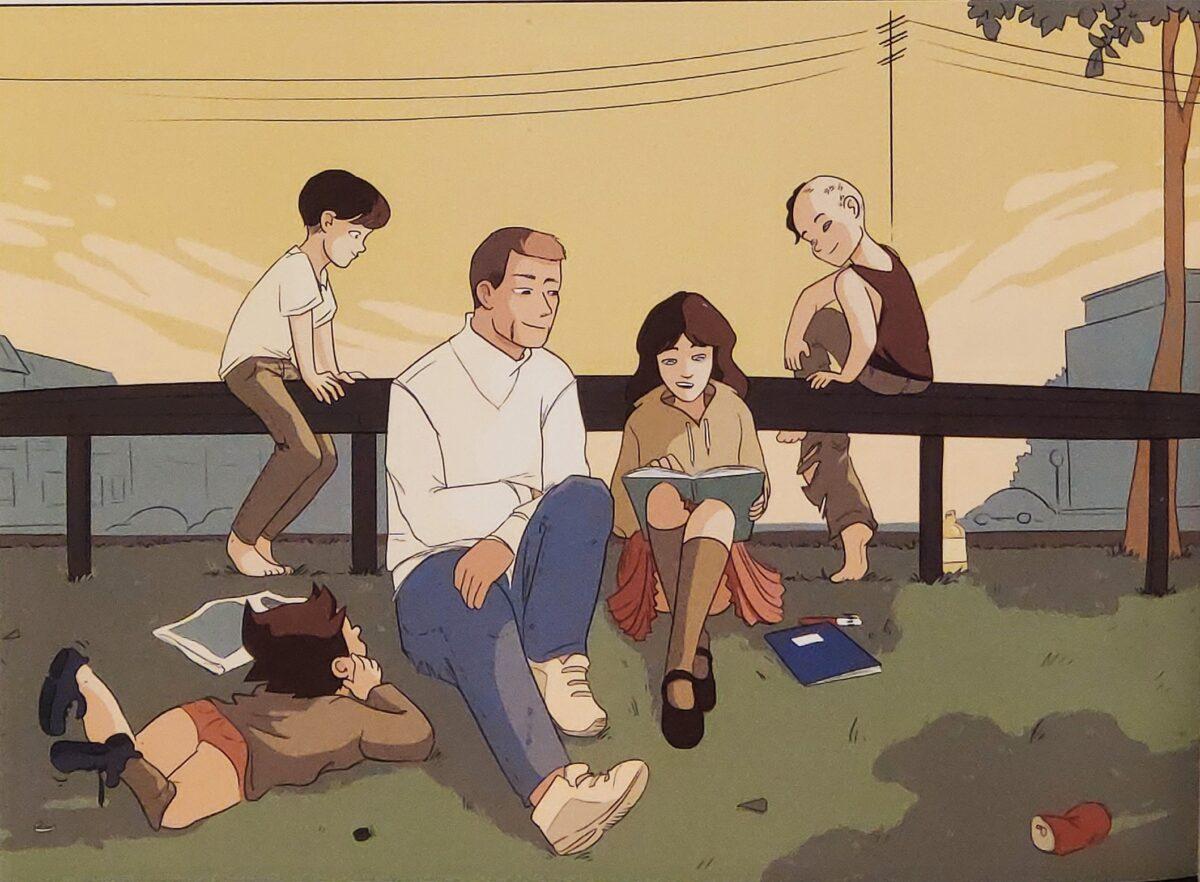 Mio caro fumetto... - Manu fa da precettore a Rusine e ai suoi fratelli