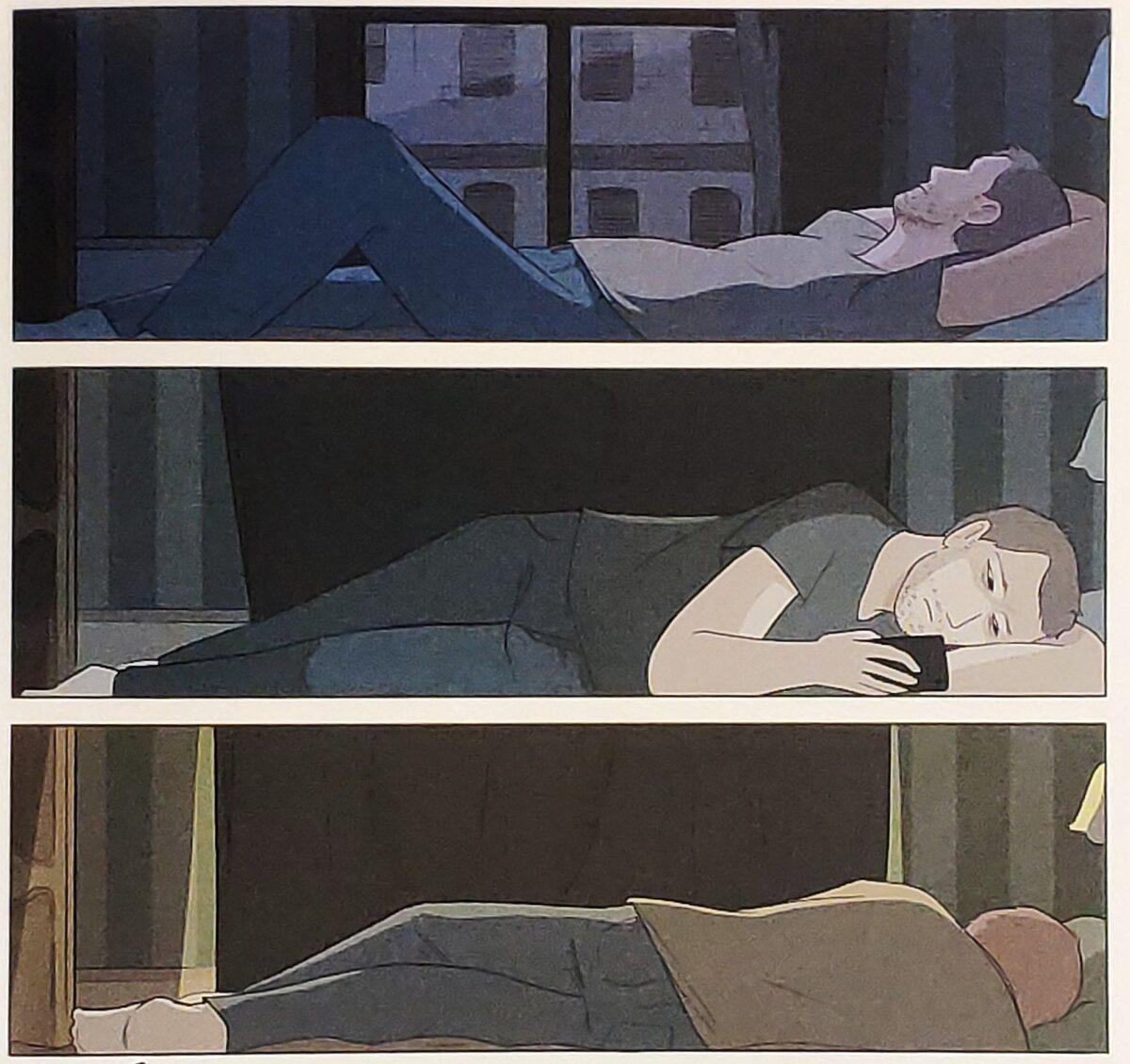 Mio caro fumetto... - Notti insonni in preda all'angoscia