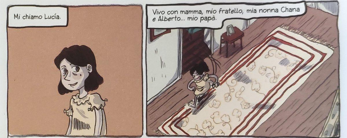 Mio caro fumetto... - Lucía, alter ego di Gato Fernández, si presenta