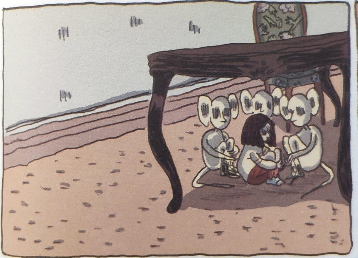 Mio caro fumetto... - Dei segnali lanciati da Lucía non si accorge nessuno, è sola