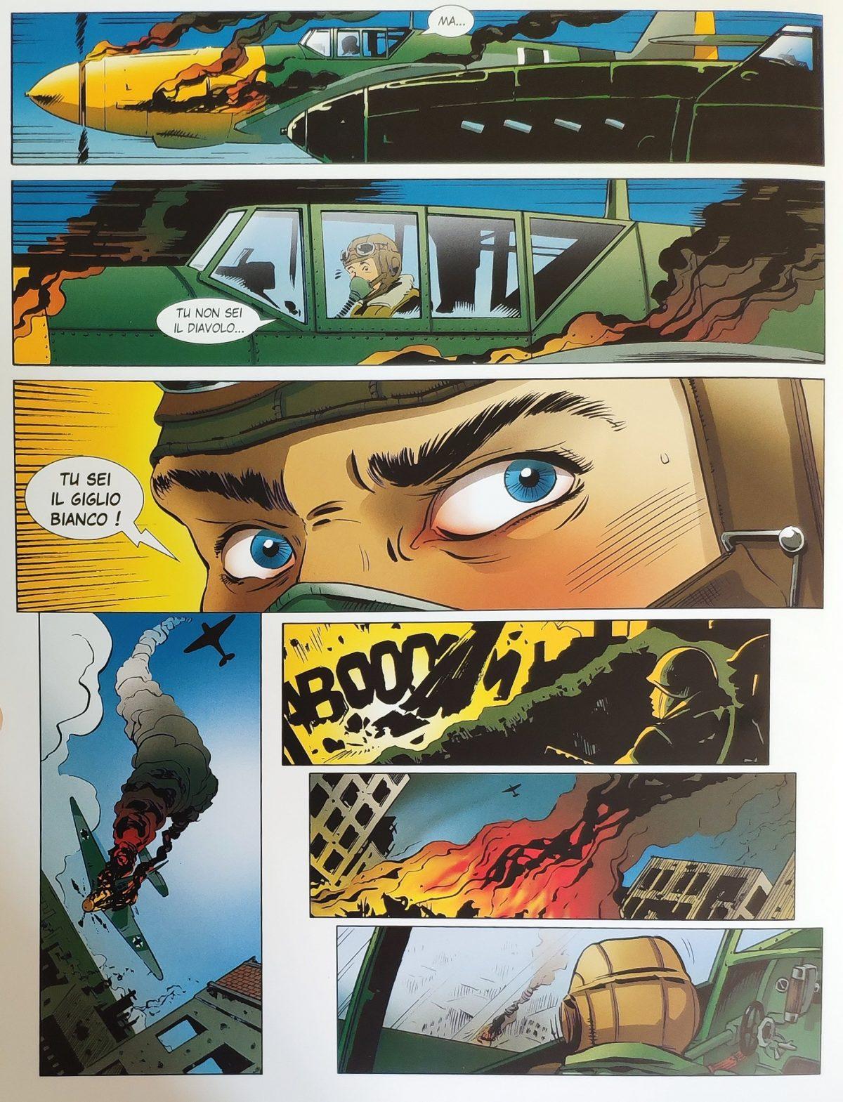 Mio caro fumetto... - Echi di Diabolik nei disegni de Il Giglio Bianco di Stalingrado