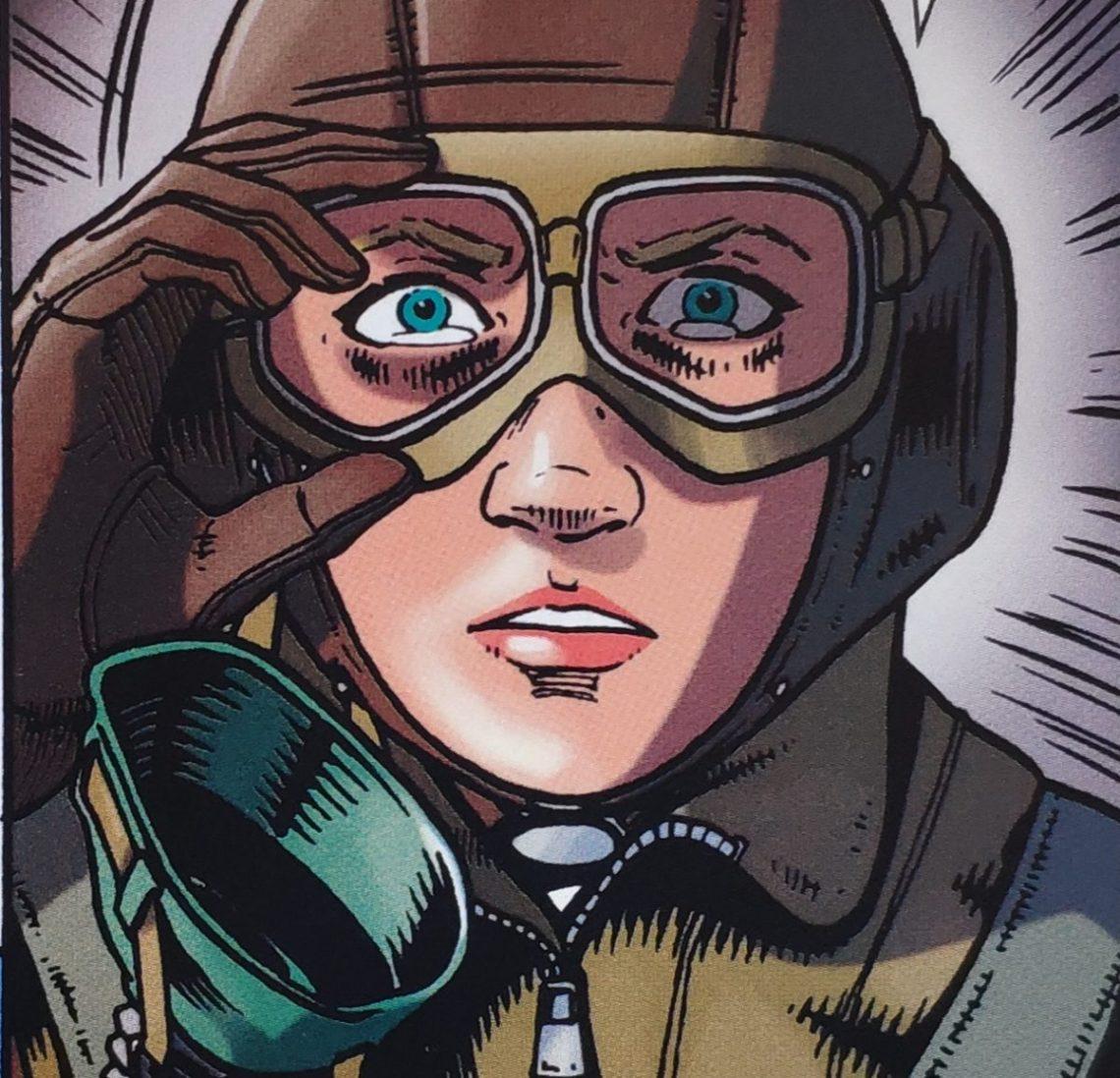 Mio caro fumetto... - Il Giglio Bianco di Stalingrado con il casco da pilota aereo