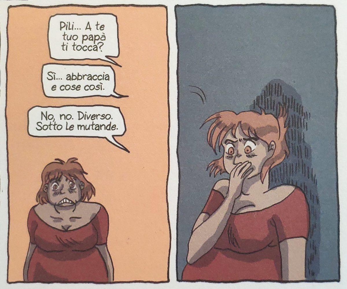 Mio caro fumetto... - La mamma di una compagna di scuola di Lucía scopre gli abusi