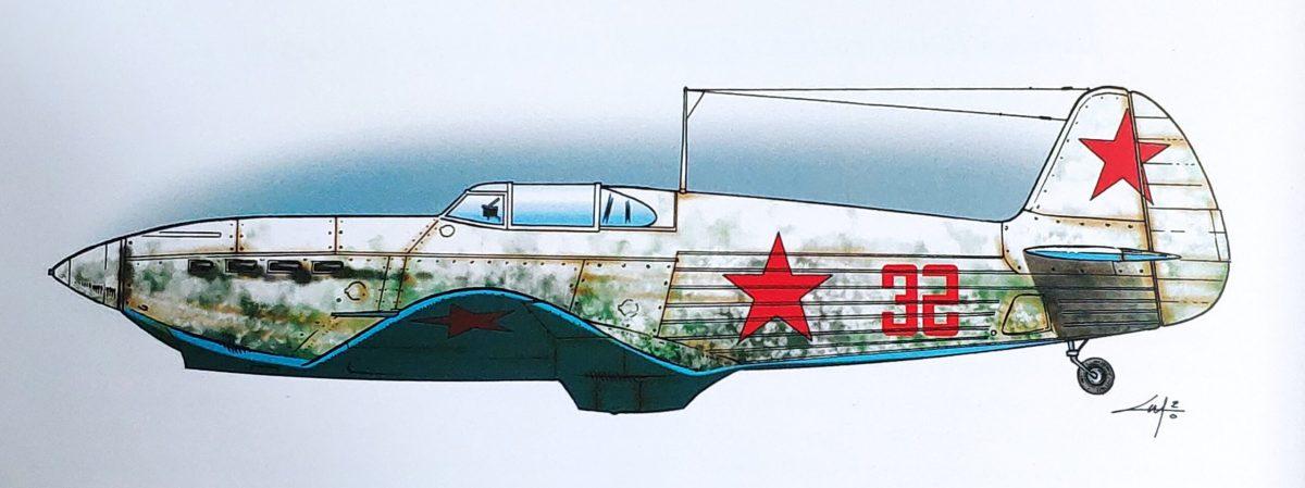 Mio caro fumetto... - Lo Yak-1 n. 32 di Lydia Vladimirovna Litvyak