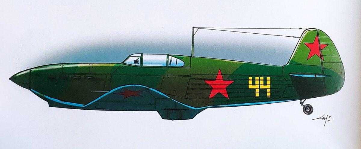 Mio caro fumetto... - Lo Yak-1 n. 44 di Lidija Vladimirovna Litvjak