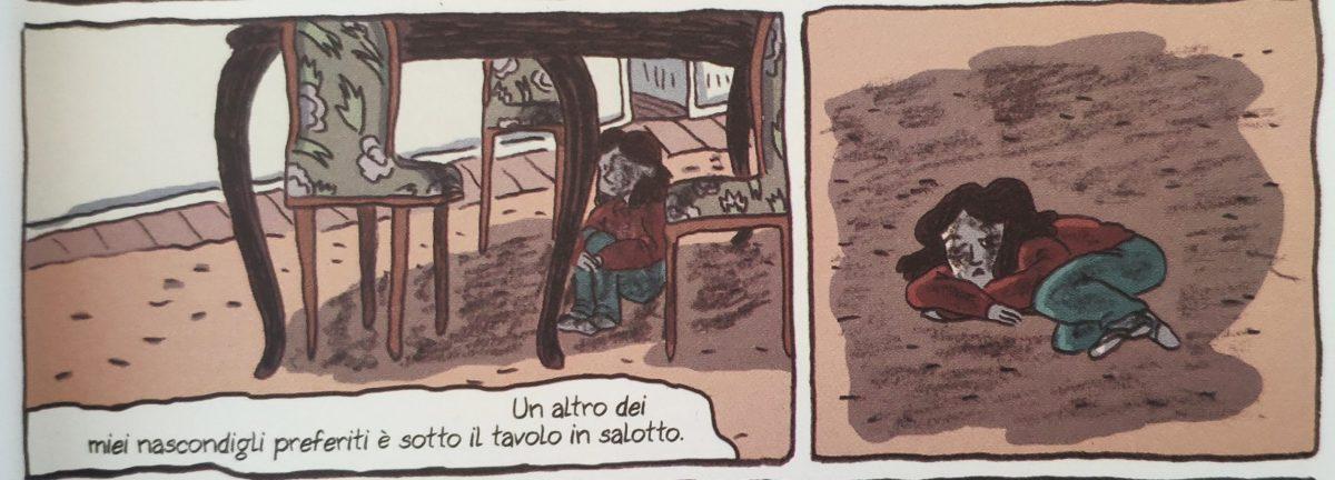 Mio caro fumetto... - Lucía in casa si nasconde per cercare di non subire abusi