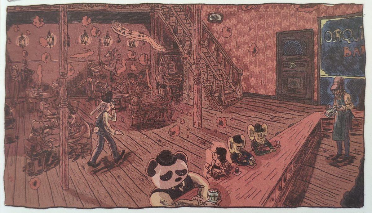 Mio caro fumetto... - Saloon-bordello nell'universo onirico di Lucía