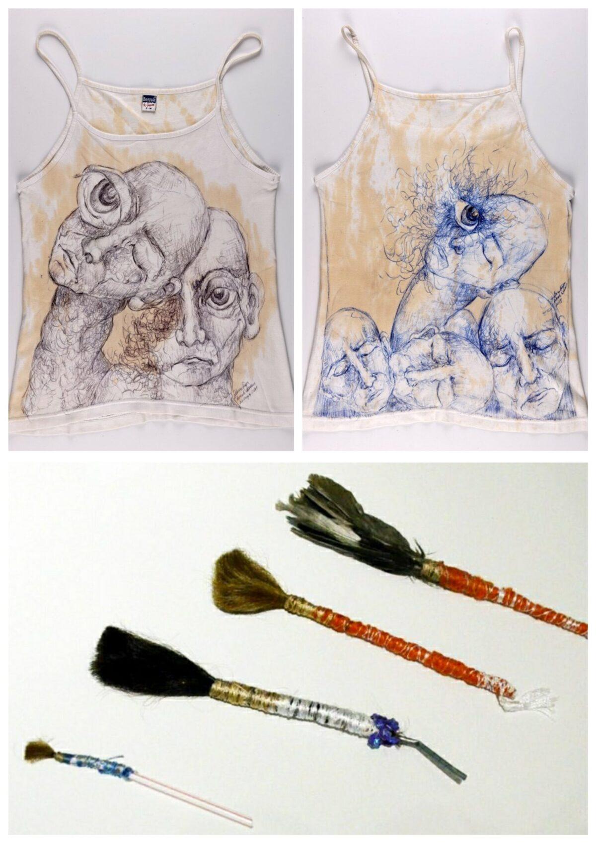 Mio caro fumetto... - Supporti e strumenti di fortuna utilizzati da Zehra Doğan per creare