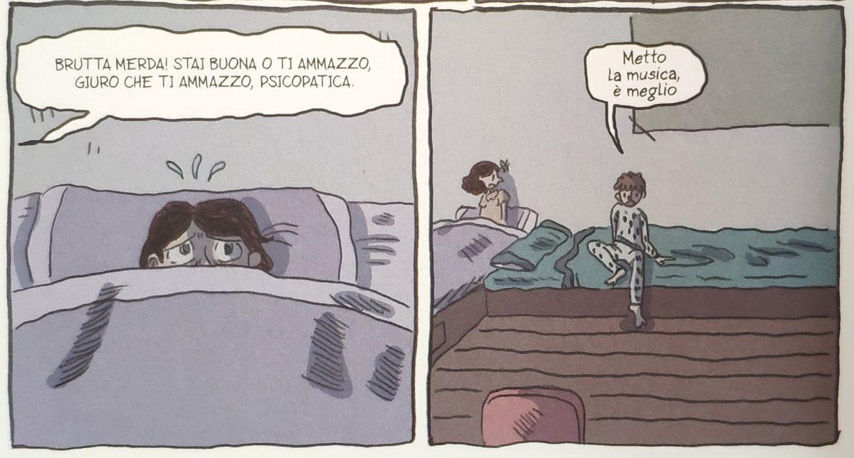 Mio caro fumetto.... - Lucía e suo fratello Fede e i litigi fra i genitori