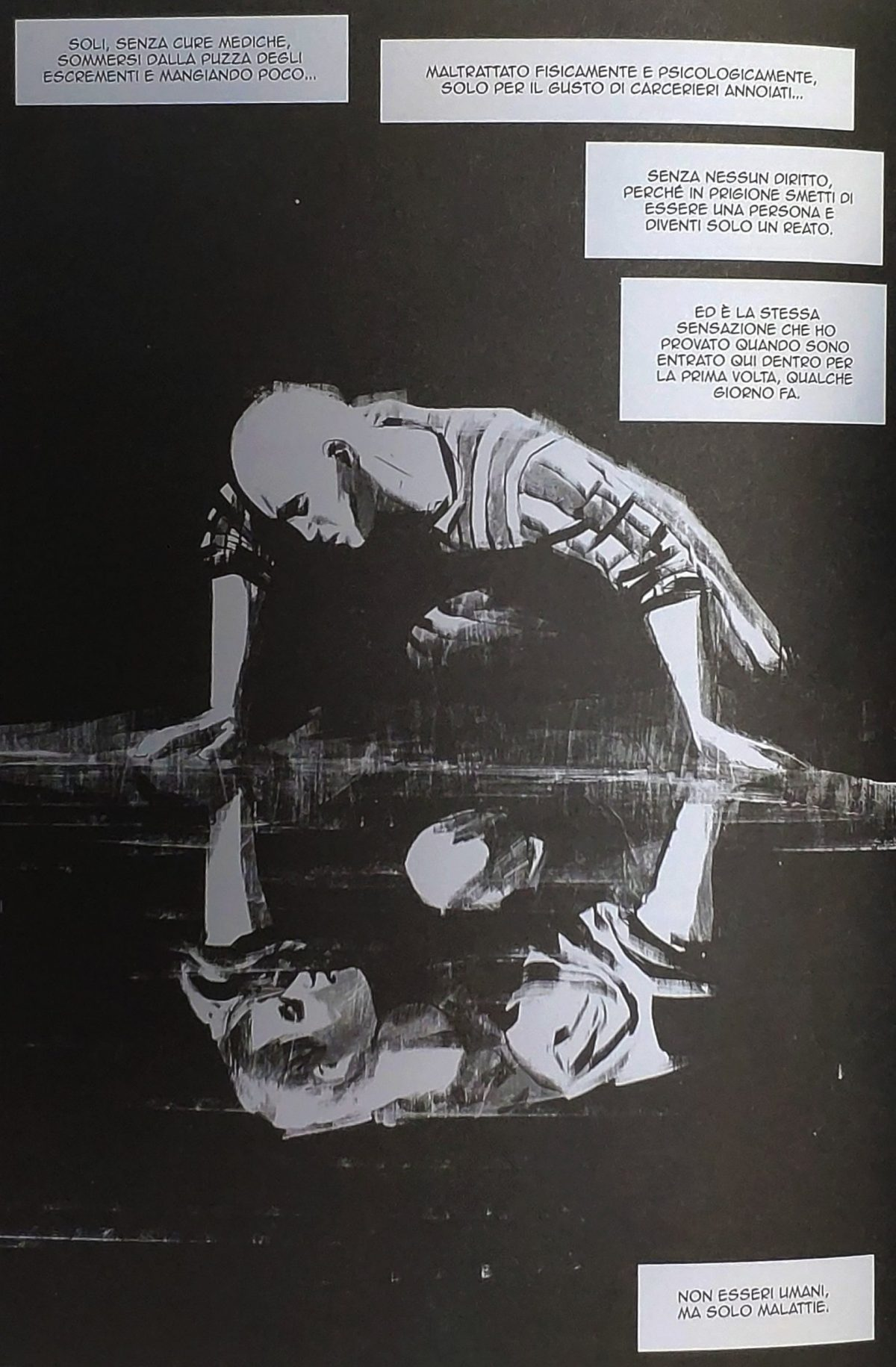 Mio caro fumetto... - Armando Mìron Polacco e il suo richiamo al Narciso di Caravaggio
