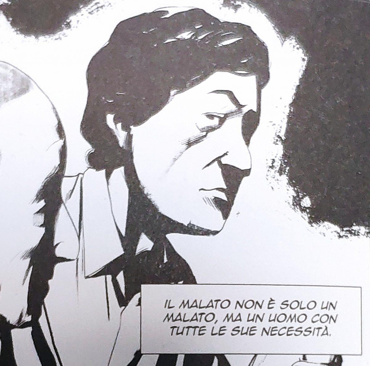 Mio caro fumetto... - Basaglia e la convinzione che il malato sia un uomo con tutte le sue necessità