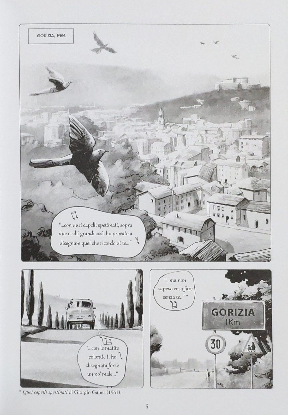 Mio caro fumetto... - Franco Basaglia si trasferisce a Gorizia con la sua famiglia nel 1961