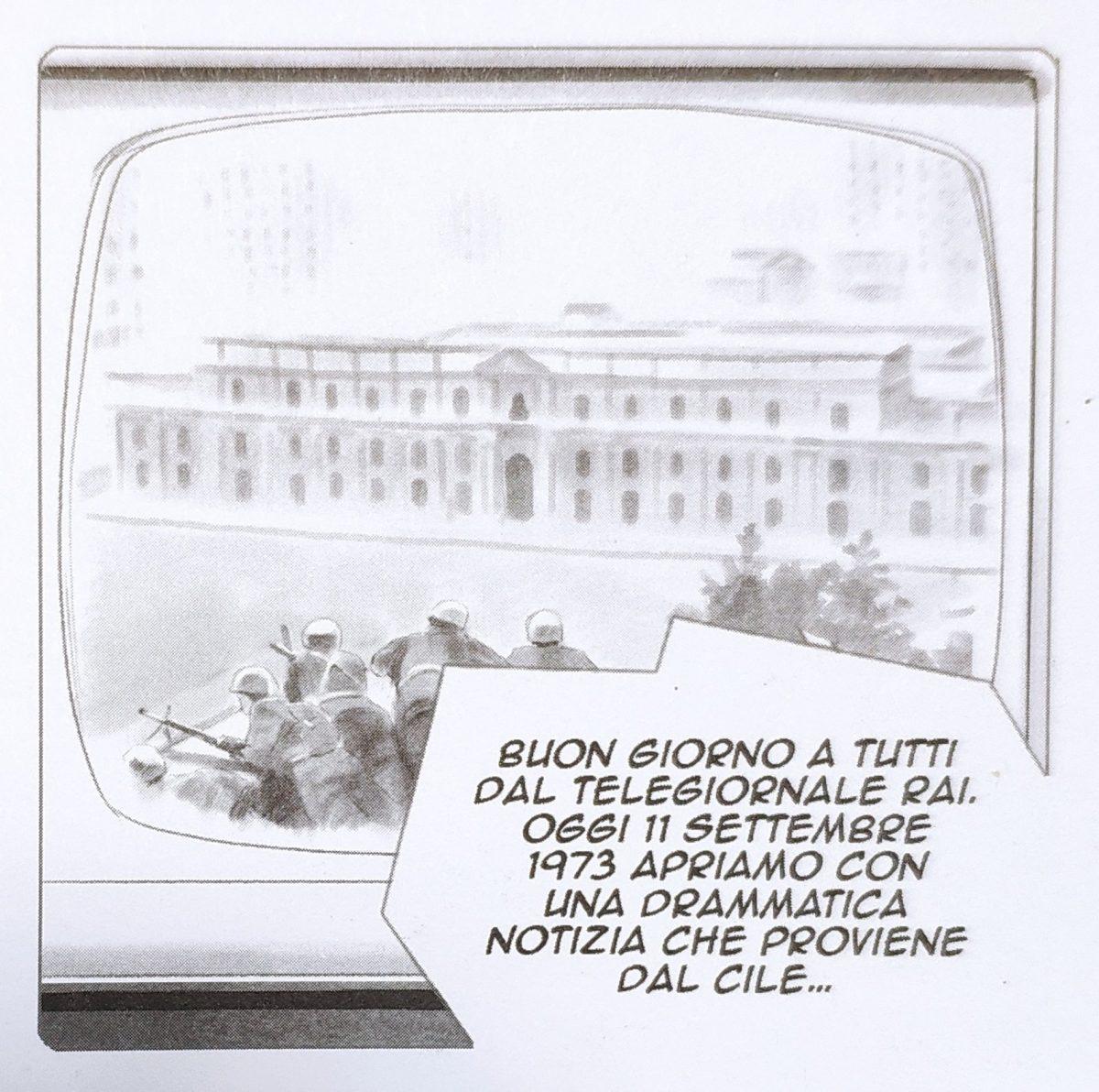 Mio caro fumetto... - L'11 settembre 1973 il golpe di Pinochet in Cile