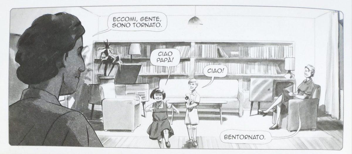 Mio caro fumetto... - Scala di grigi a ricordare l'acquerello per le scene quotidiane