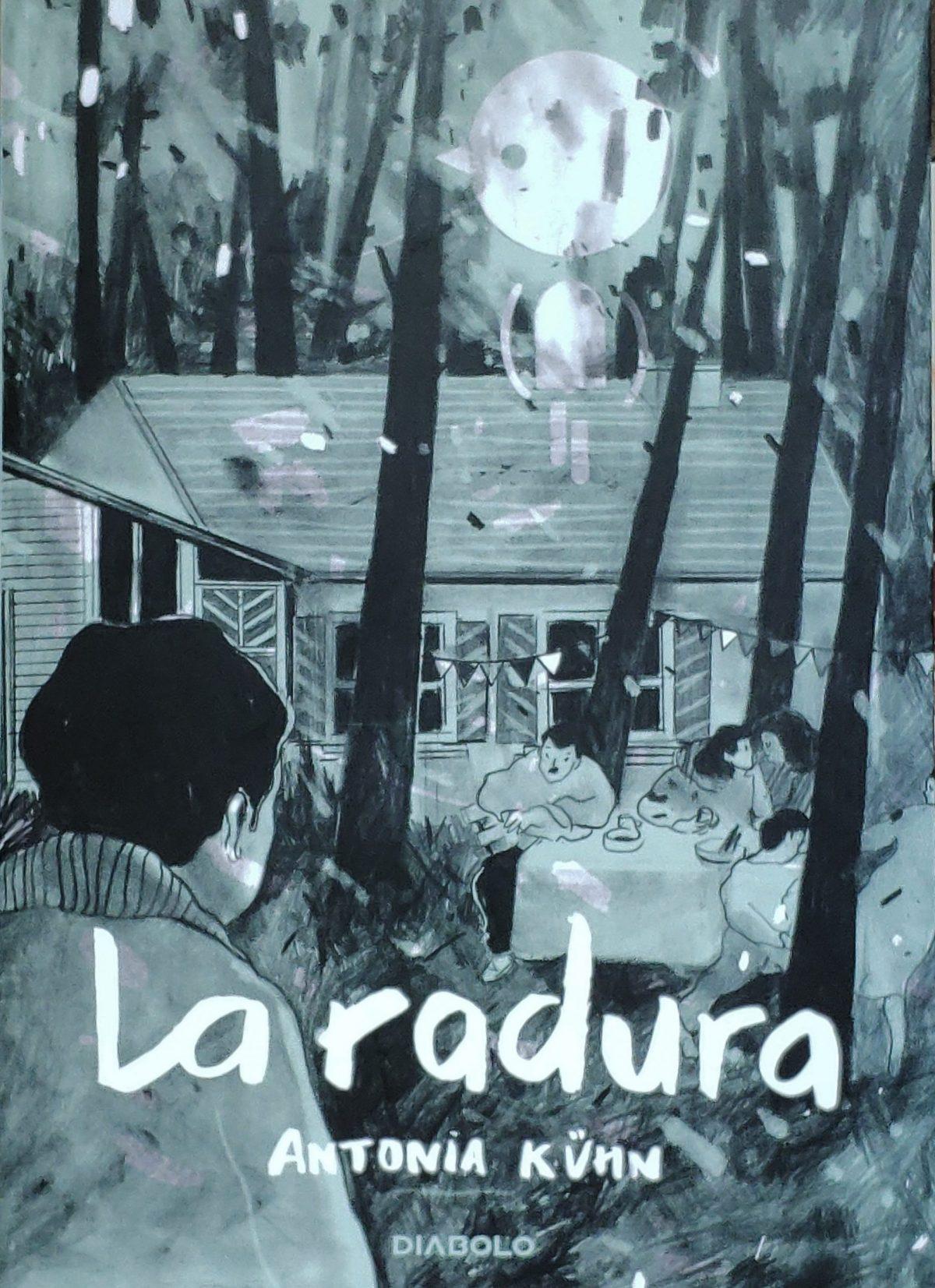 Mio caro fumetto... - Copertina de La radura di Antonia Kühn, pubblicato da Diabolo Edizioni