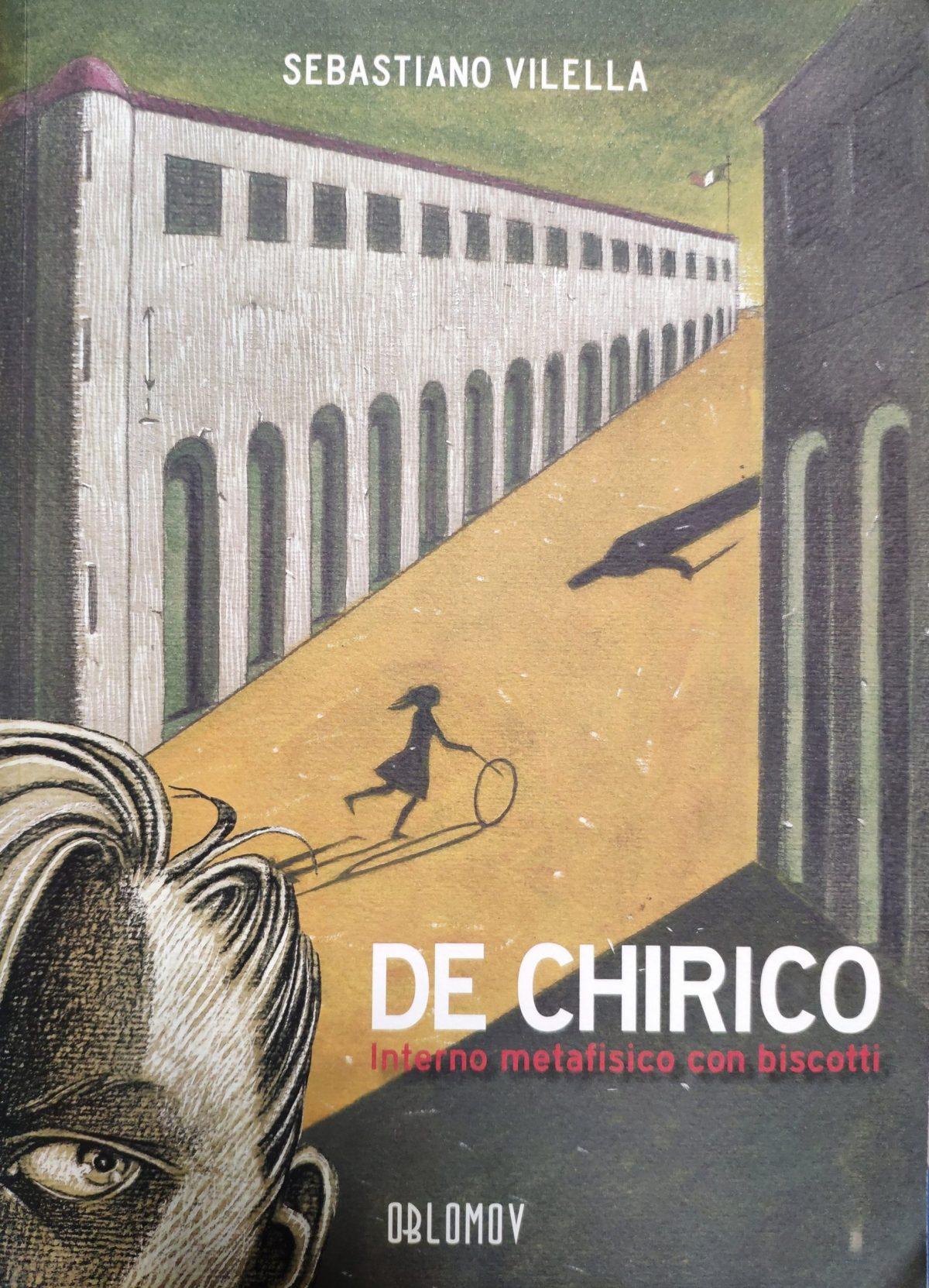 Mio caro fumetto... - Copertina di De Chirico, Interno metafisico con biscotti di Sebastiano Vilella