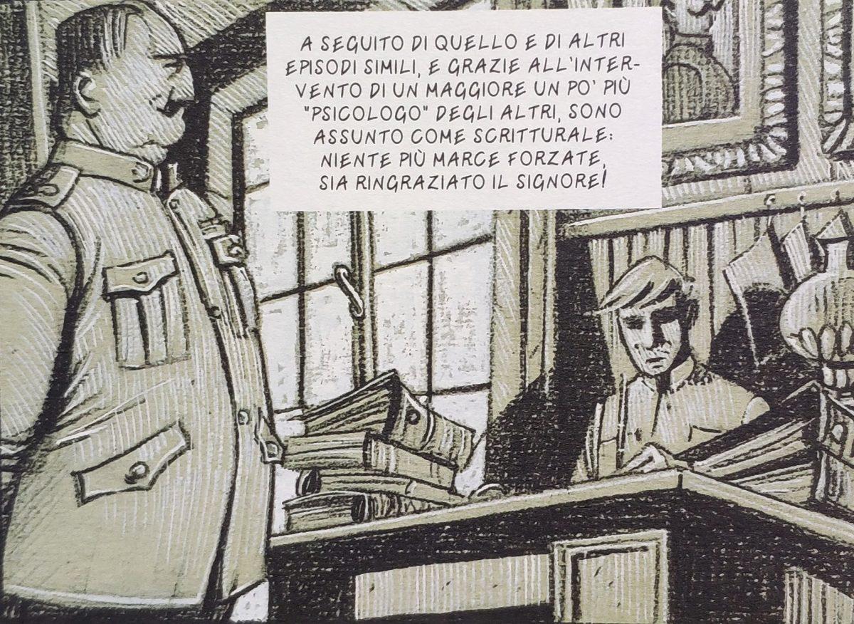 Mio caro fumetto... - De Chirico assunto come scritturale a Ferrara