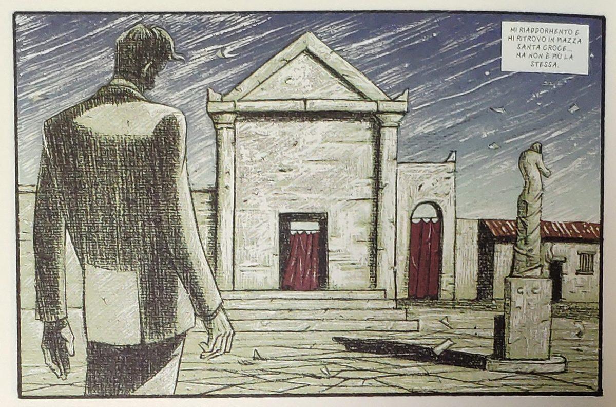 Mio caro fumetto... - Enigma di un pomeriggio di autunno secondo Sebastiano Vilella