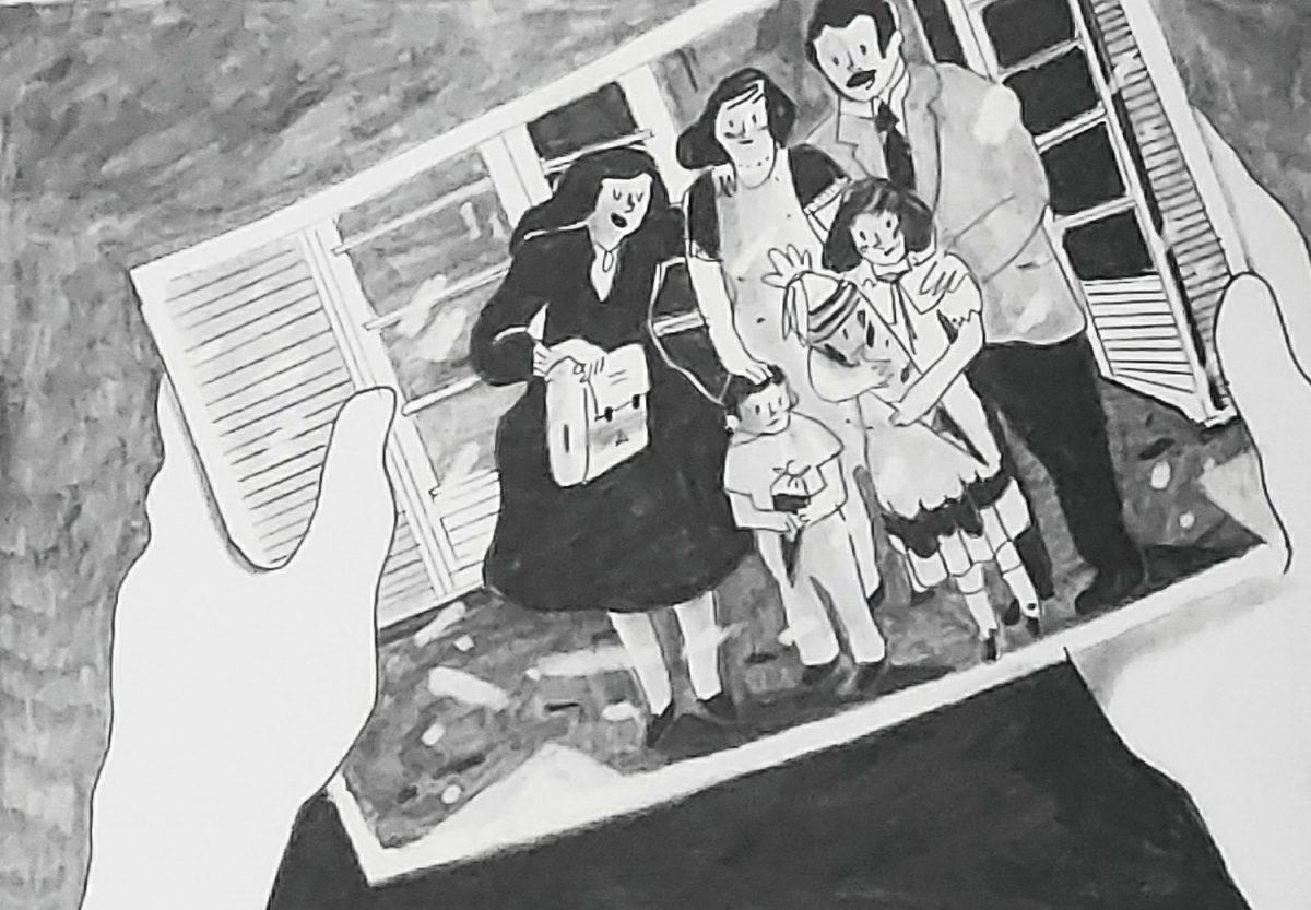 Mio caro fumetto... - Foto della famiglia protagonista de La radura