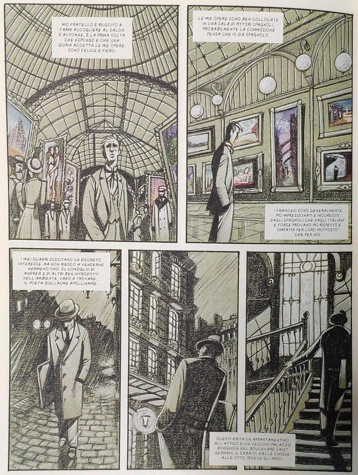 Mio caro fumetto... - Giorgio De Chirico a Parigi