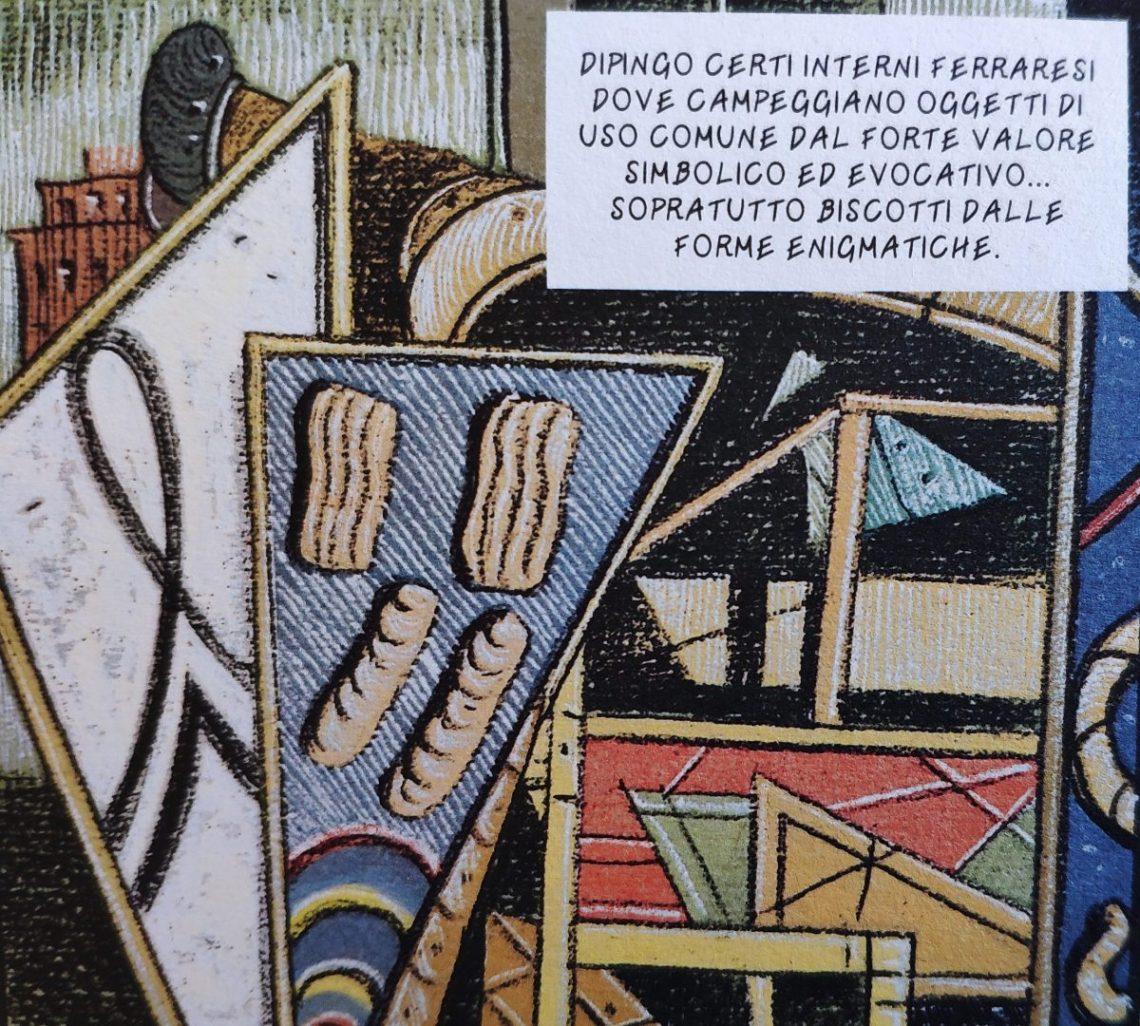 Mio caro fumetto... - Gli interni metafisici e i biscotti di Giorgio De Chirico