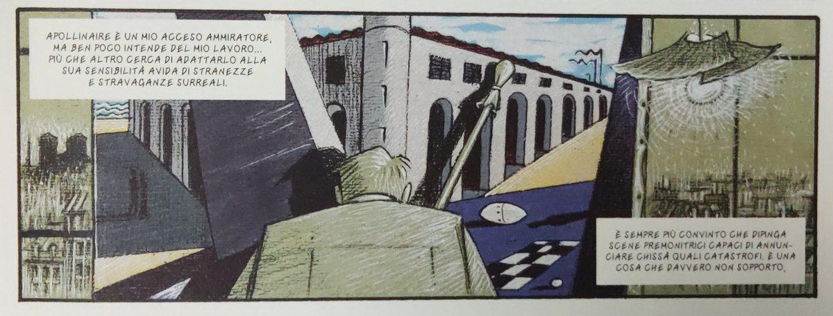 Mio caro fumetto... - Guillaume Apollinaire e le premonizioni dechirichiane