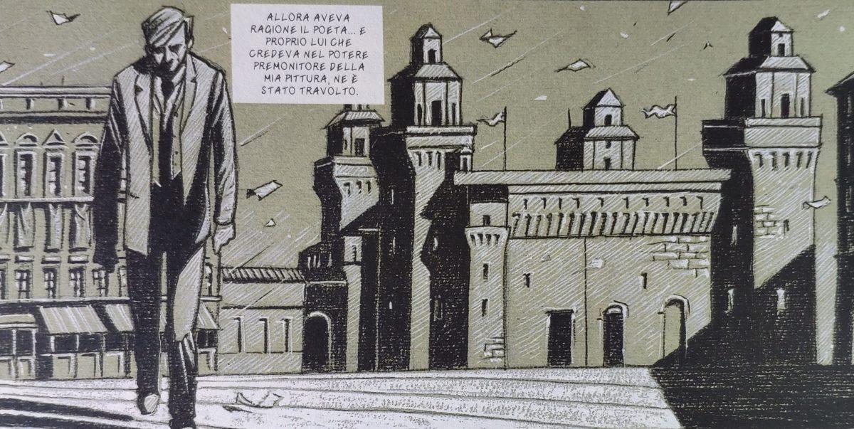 Mio caro fumetto... - Il potere premonitore della pittura di De Chirico