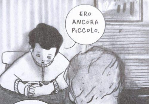 Mio caro fumetto... - Paul Sperling, protagonista de La radura di Antonia Kühn