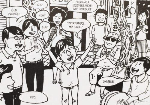 Mio caro fumetto... - Jun Choi si esibisce in strada nell'arte del pansori