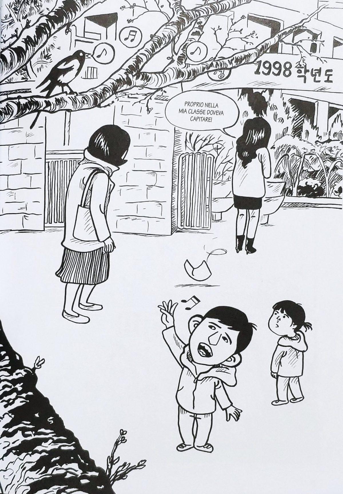 Mio caro fumetto... - Discriminazione a scuola