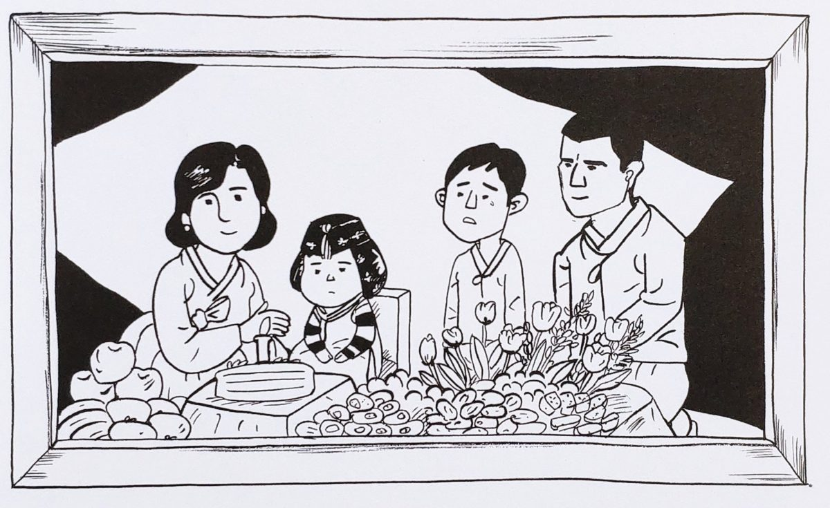Mio caro fumetto... - Jun Choi in una foto di famiglia