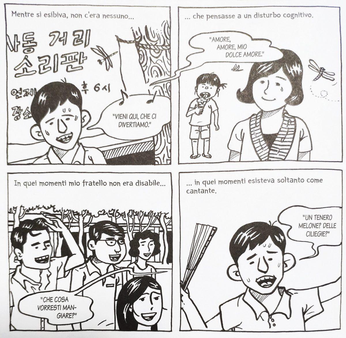 Mio caro fumetto... - Jun libero di esprimersi nel pansori e grazie alla musica