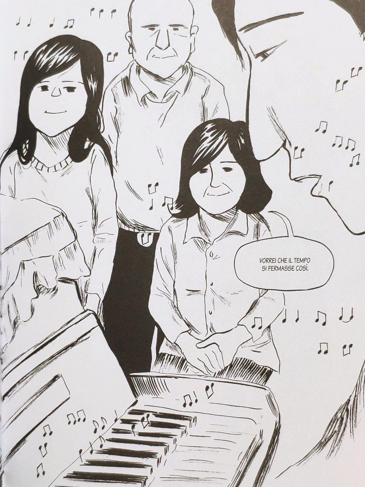 Mio caro fumetto... - La serenità familiare nella musica di Jun